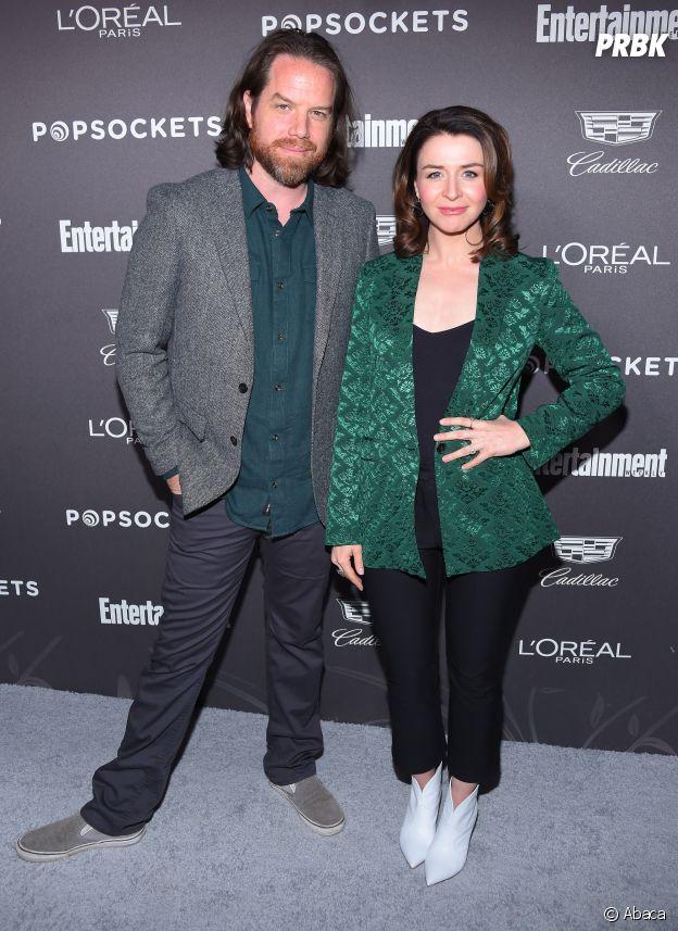Caterina Scorsone et son mari Rob Giles