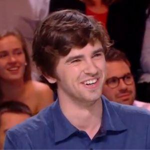 Freddie Highmore (Good Doctor) fait craquer les internautes avec son français parfait dans Quotidien