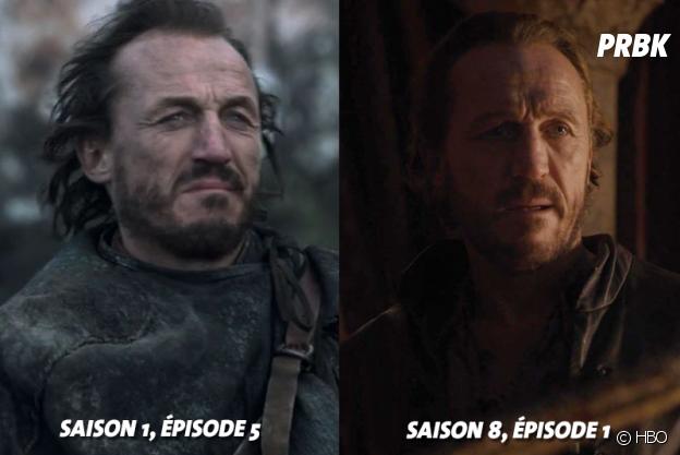 Game of Thrones : Jerome Flynn (Bronn) au début de la série VS aujourd'hui
