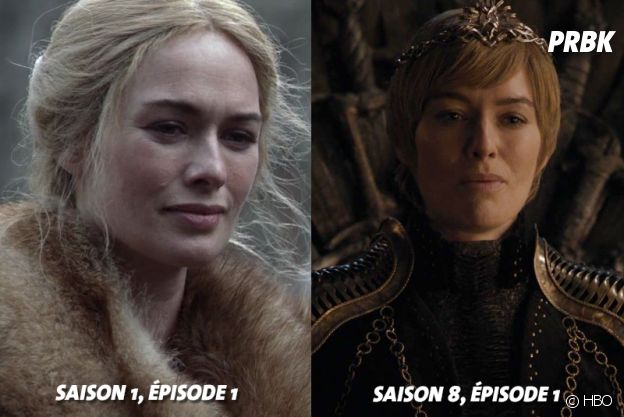 Game of Thrones : Lena Headey (Cersei) au début de la série VS aujourd'hui