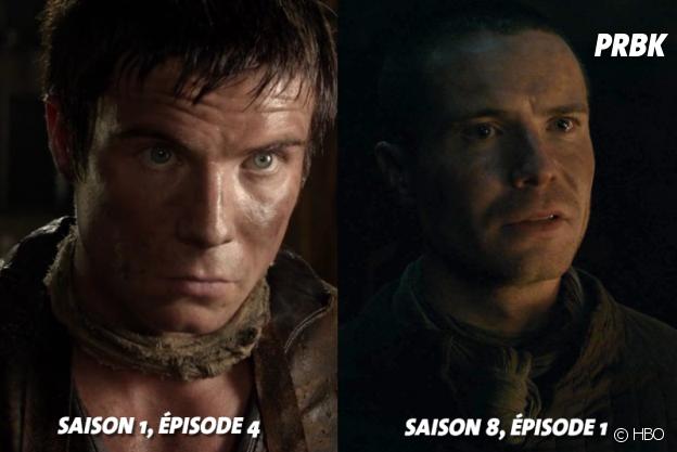 Game of Thrones : Joe Dempsie (Gendry) au début de la série VS aujourd'hui