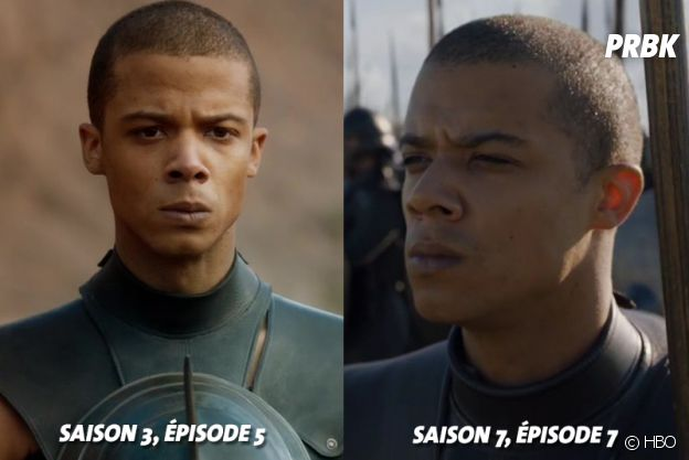 Game of Thrones : Jacob Anderson (Grey Worm) lors de ses débuts dans la série VS aujourd'hui