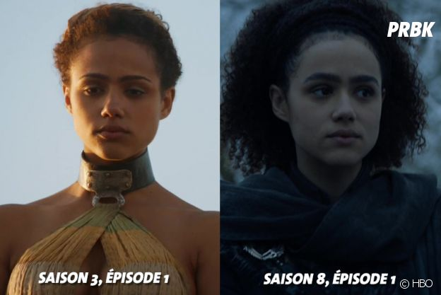 Game of Thrones : Nathalie Emmanuel (Missandei) à ses débuts dans la série VS aujourd'hui