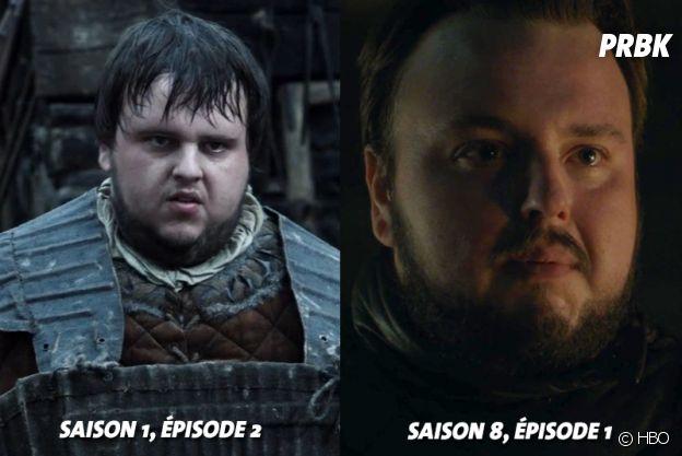 Game of Thrones : John Bradley (Sam) au début de la série VS aujourd'hui