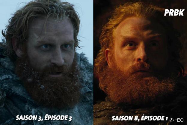 Game of Thrones : Kristofer Hivju (Tormund) lors de ses débuts dans la série VS aujourd'hui