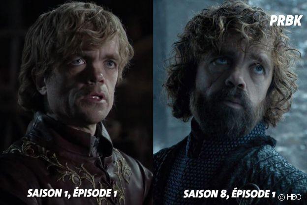 Game of Thrones : Peter Dinklage (Tyrion) au début de la série VS aujourd'hui