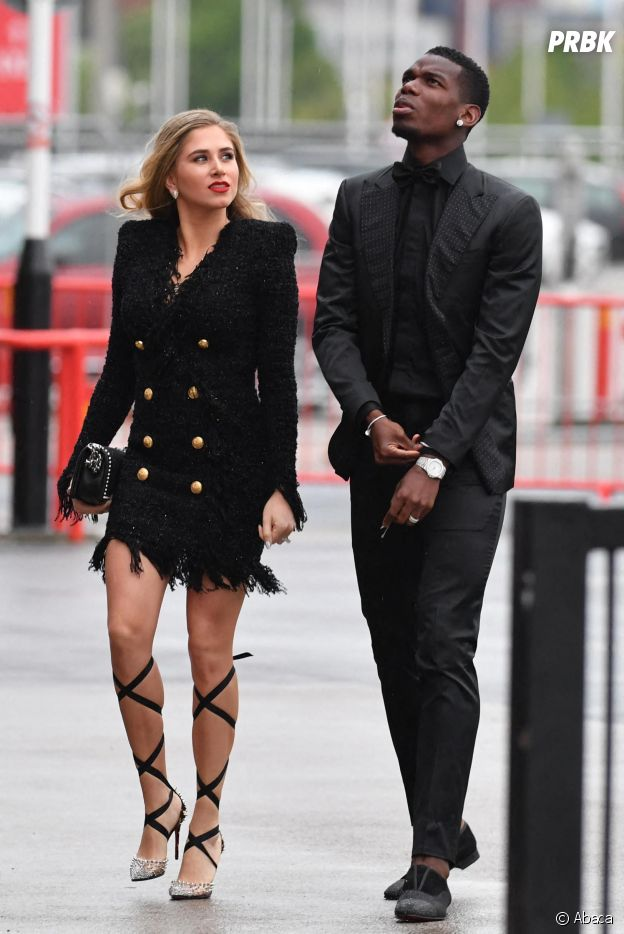 Paul Pogba s'affiche avec sa compagne Maria Salaues : les jeunes parents étaient in love sur le red carpet