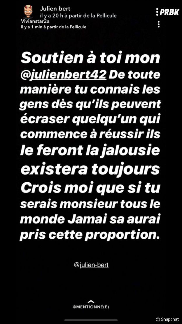 Vivian Grimigni prend la défense de Julien Bert
