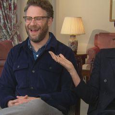 """Seth Rogen et Charlize Theron : """"On nous confond régulièrement avec d'autres acteurs"""" interview"""