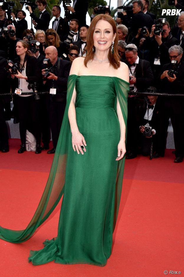 Julianne Moore sur le red carpet, à l'ouverture de la 72ème édition du festival de Cannes