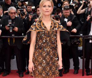 Marina Foïs sur le red carpet, à l'ouverture de la 72ème édition du festival de Cannes