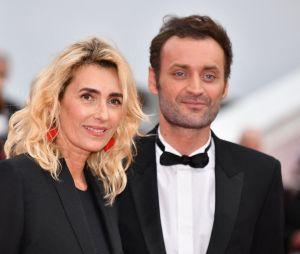 Mademoiselle Agnès et Augustin Trapenard sur le red carpet, à l'ouverture de la 72ème édition du festival de Cannes