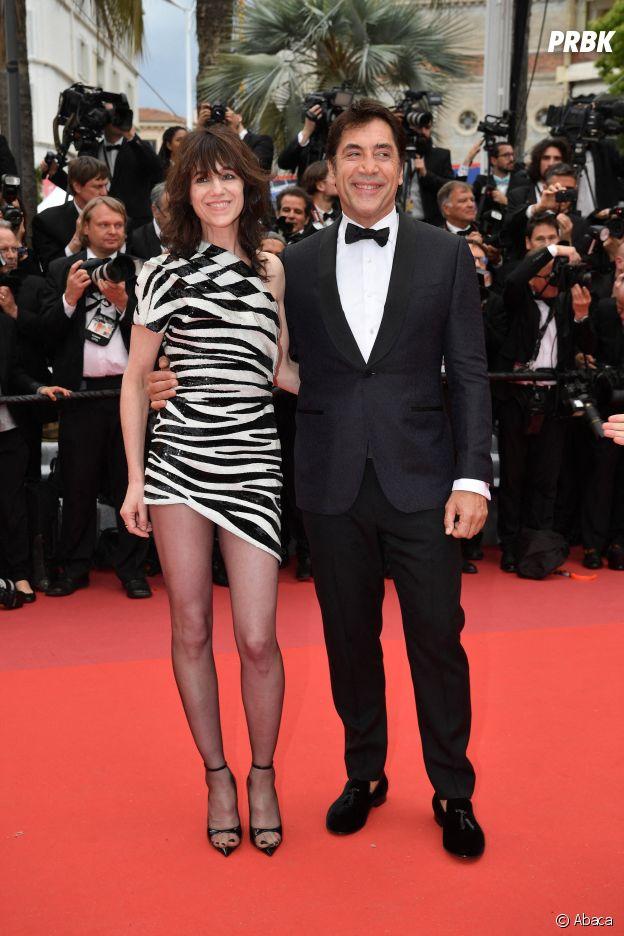Charlotte Gainsbourg et Javier Bardem sur le red carpet, à l'ouverture de la 72ème édition du festival de Cannes