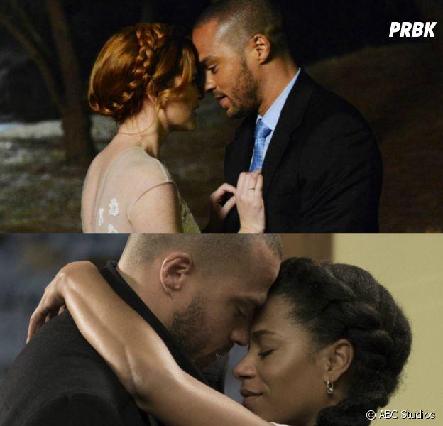 Grey's Anatomy saison 15 : Jesse Williams compare le couple Jackson/Maggie à Japril