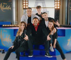 Aladdin : Denitsa Ikonomova et d'autres talents chantent et dansent pour Will Smith