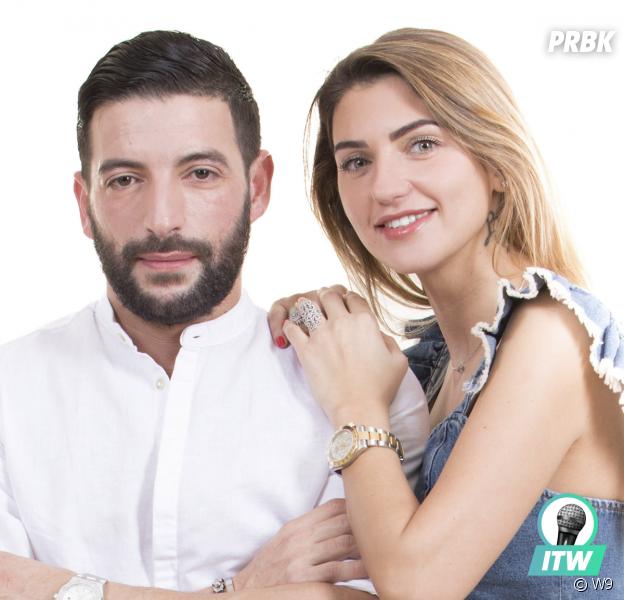 """Malika (L'Île de la tentation) et Mehdi : """"On pense reporter notre mariage"""" (Interview)"""