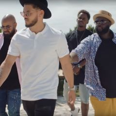 """""""Mon beau-frère"""" : Rayane Bensetti bizuté par Black M et Issa Doumbia"""