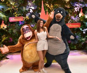 Iris Mittenaere à Disneyland Paris pour le Festival du Roi Lion & de la jungle