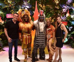 Arnaud Ducret à Disneyland Paris pour le Festival du Roi Lion & de la jungle