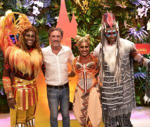 Jean-Paul Rouve à Disneyland Paris pour le Festival du Roi Lion & de la jungle