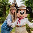 Heidi Klum à Disneyland Paris pour le Festival du Roi Lion & de la jungle