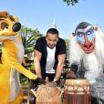 Waly Dia à Disneyland Paris pour le Festival du Roi Lion & de la jungle