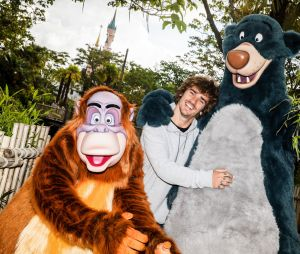 Antoine Griezmann à Disneyland Paris pour le Festival du Roi Lion & de la jungle