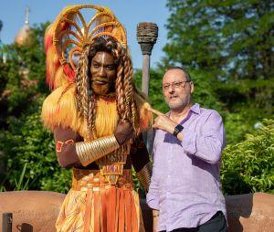 Jean Reno à Disneyland Paris pour le Festival du Roi Lion & de la jungle
