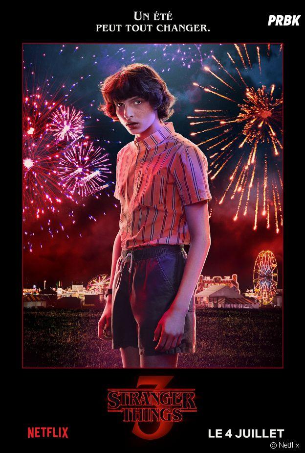 Stranger Things : Finn Wolfhard dans la saison 3