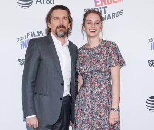 Maya Hawke (Stranger Things) et son père Ethan Hawke