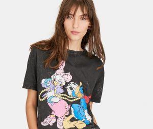 Stradivarius x Disney : le T-shirt avec Donald et Daisy