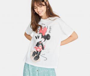 Stradivarius x Disney : le T-shirt avec Minnie