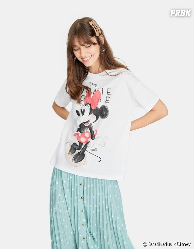 Stradivarius x Disney : le T-shirt avec Minnie