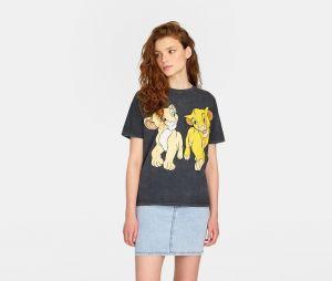 Stradivarius x Disney : le T-shirt avec Simba et Nala