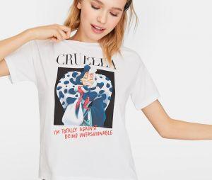 Stradivarius x Disney : le T-shirt avec Cruella