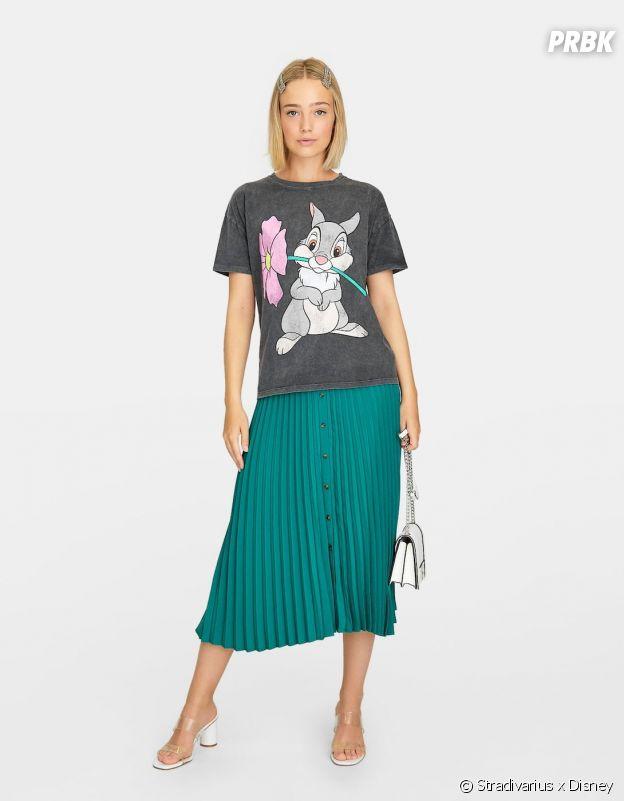 Stradivarius x Disney : le T-shirt avec Panpan