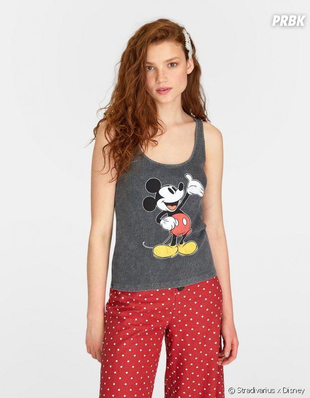 Stradivarius x Disney : le débardeur avec Mickey