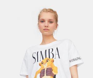 Stradivarius x Disney : le T-shirt avec Simba