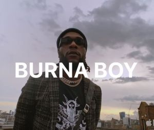 Burna Boy débarque sur le programme Up Next d'Apple Music