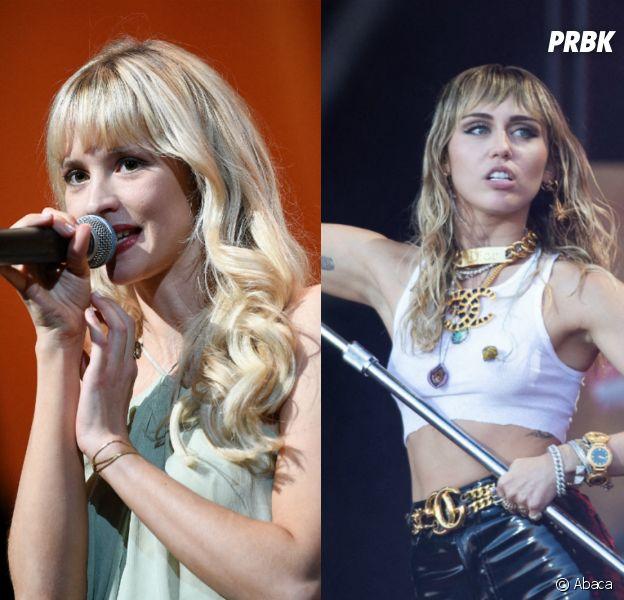 Angèle validée par Miley Cyrus sur Instagram !