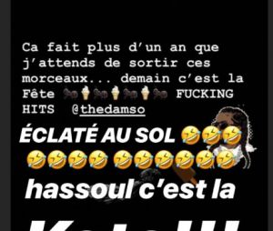 Booba clashe Damso et Kalash sur Instagram