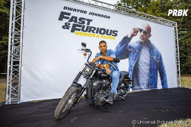 Terence Telle à l'avant-première de Fast and Furious Hobbs & Shaw