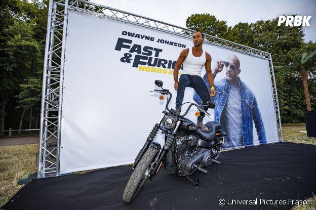 Laurent Maistretà l'avant-première de Fast and Furious Hobbs & Shaw