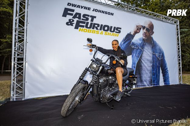 Alicia Aylies à l'avant-première de Fast and Furious : Hobbs & Shaw