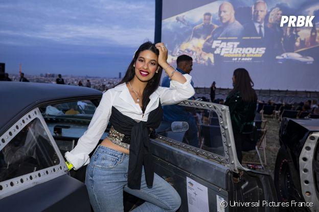 Alia Chergui à l'avant-première de Fast and Furious : Hobbs & Shaw