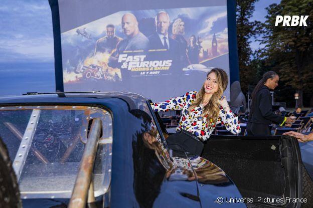 Cyrielle Joelle à l'avant-première de Fast and Furious : Hobbs & Shaw