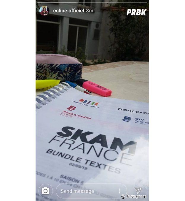 Skam saison 5 : Coline Preher (Alexia) de retour !