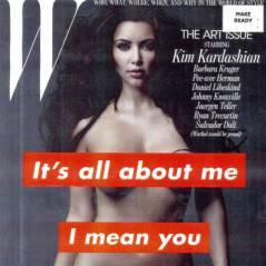 Kim Kardashian ... Entièrement nue pour W Magazine