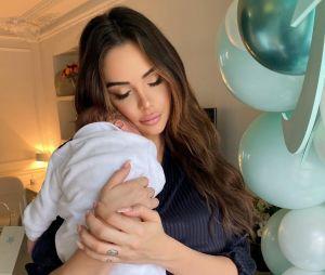 Nabilla Benattia maman : pourquoi elle ne montre pas le visage de son fils Milann
