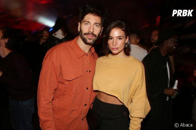 Stéphane Rodriguez et Jade Leboeuf à la soirée de lancement de la collab BoohooMAN x Dadju